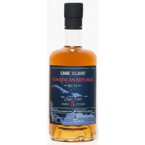 CANE ISLAND DOMINICAN REPUBLIC RUM AGED 5 Years rum review by the fat rum pirate