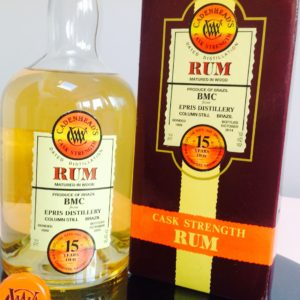 Cadenheads BMC Epris Distillery Rum Review by the fat rum pirate Cachaca