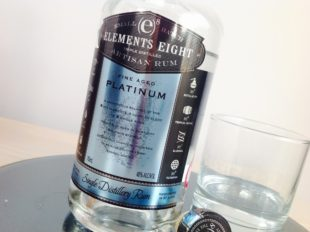 Elements Eight Platinum rum review by the fat rum pirate