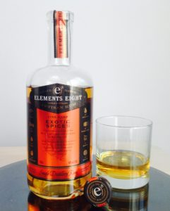 Elements Eight Spiced Rum Exotic Spices rum review by the fat rum pirate