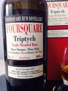 Foursquare Rum Distillery Triptych Rum Review by the fat rum pirat