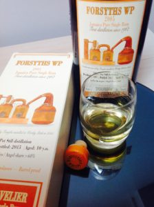 Habitation Velier Forsyths WP 2005 rum review by the fat rum pirate