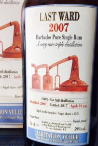 Habitation Velier Last Ward 2007 Rum review by the fat rum pirate