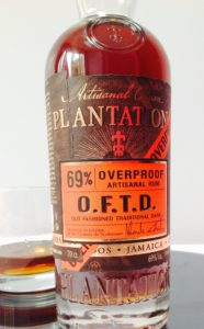 Plantation O.F.T.D. OFTD Rum review by the fat rum pirate