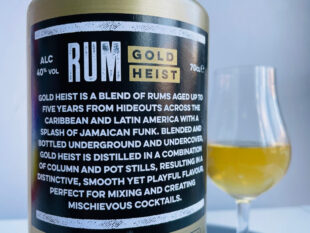 Mob33 Gold Heist Rum review by the fat rum pirate