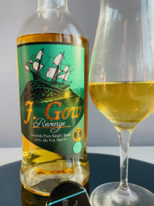 J Gow Revenge Aged 3 Years Rum Review by the fat rum pirate