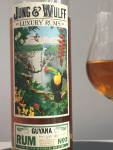 Jung and Wulff Luxury Rums No 2 Guyana rum review by the fat rum pirate