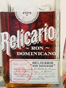 Relicario Ron Dominicano Superior Rum Review by the fat rum pirate