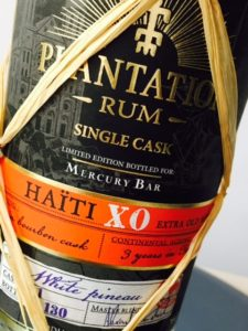 Plantation Haiti XO rum review by the fat rum pirate 2
