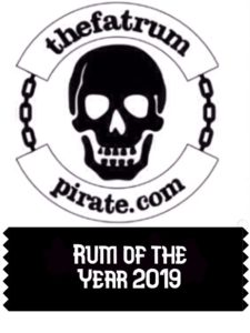Rum of the Year 2019 by the fat rum pirate review