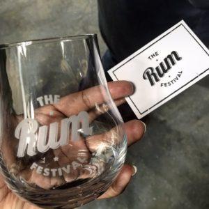 The Rum Festival Glass