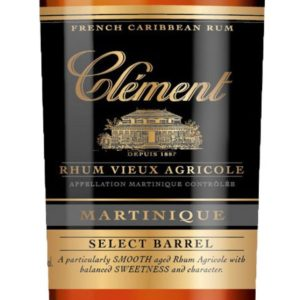 Rhum Clement Vieux Select Barrel Rum Review by the fat rum pirate