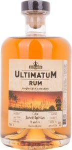 Ultimatum Rum Sancti Spiritus 18 Year Old Review by the fat rum pirate