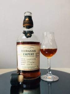Foursquare Rum Distillery Empery Rum Review by the fat rum pirate