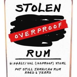Stolen Overproof Rum review by the fat rum pirate