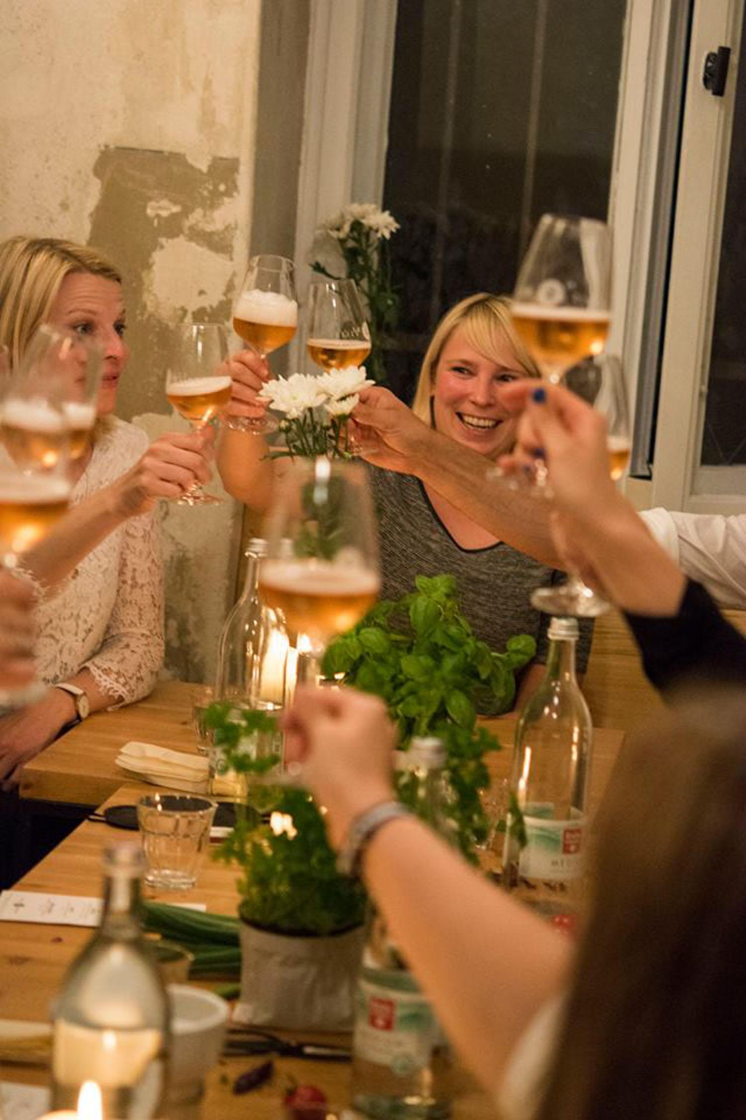 Wild and Root Food & Wine Pairing Berlin