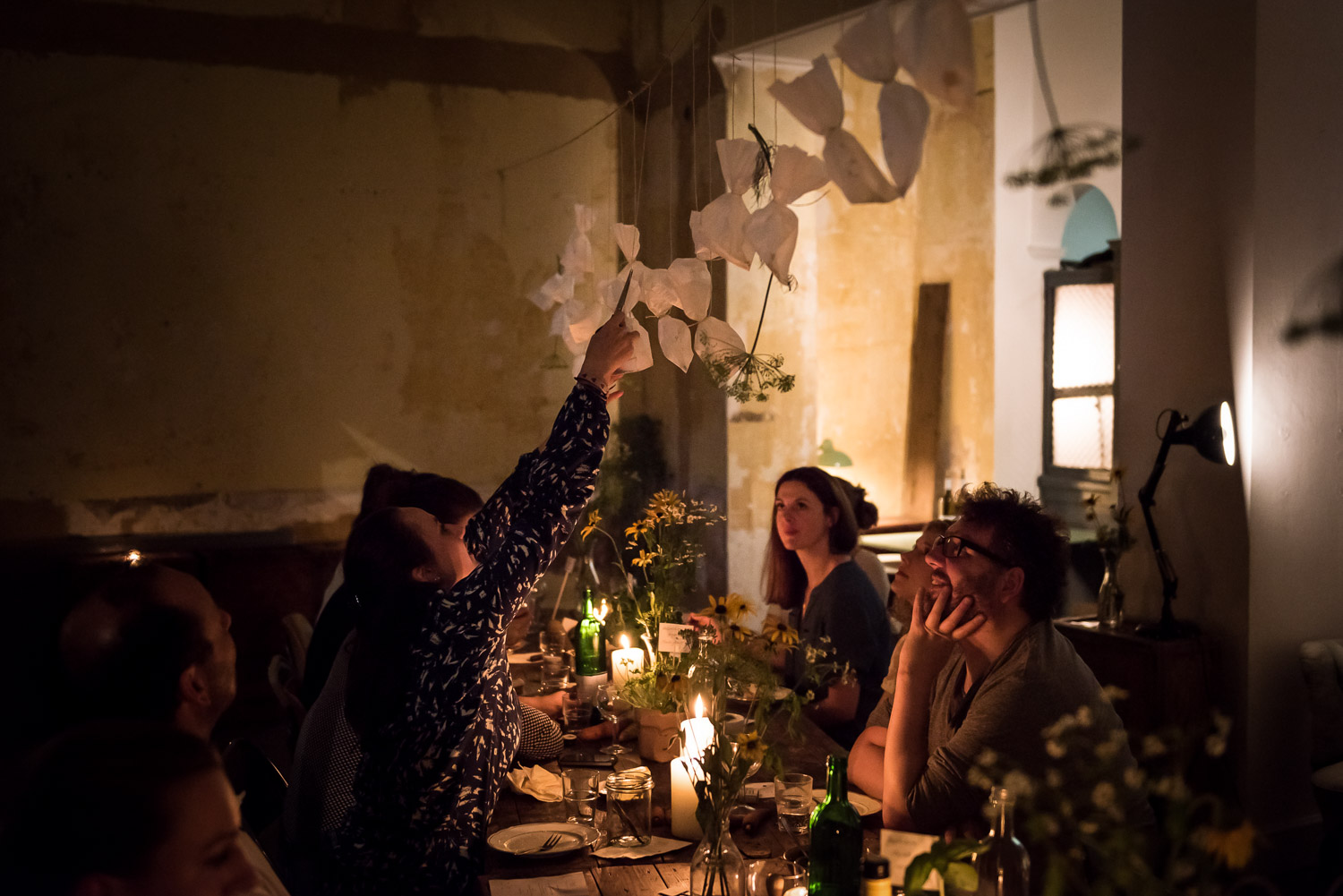 Wild and Root themed dinner Berlin