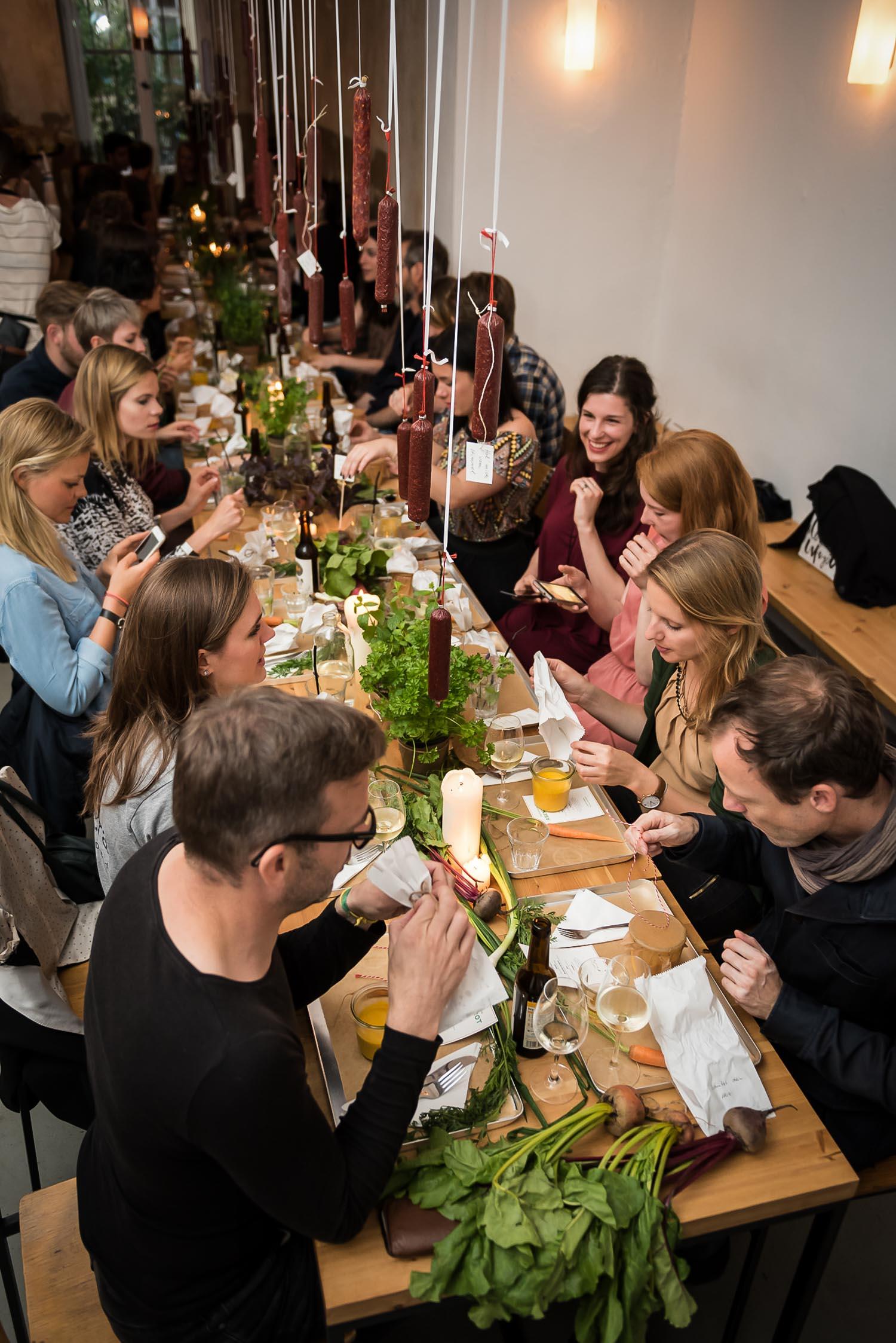 Wild and Root Food Konzepte Event Berlin