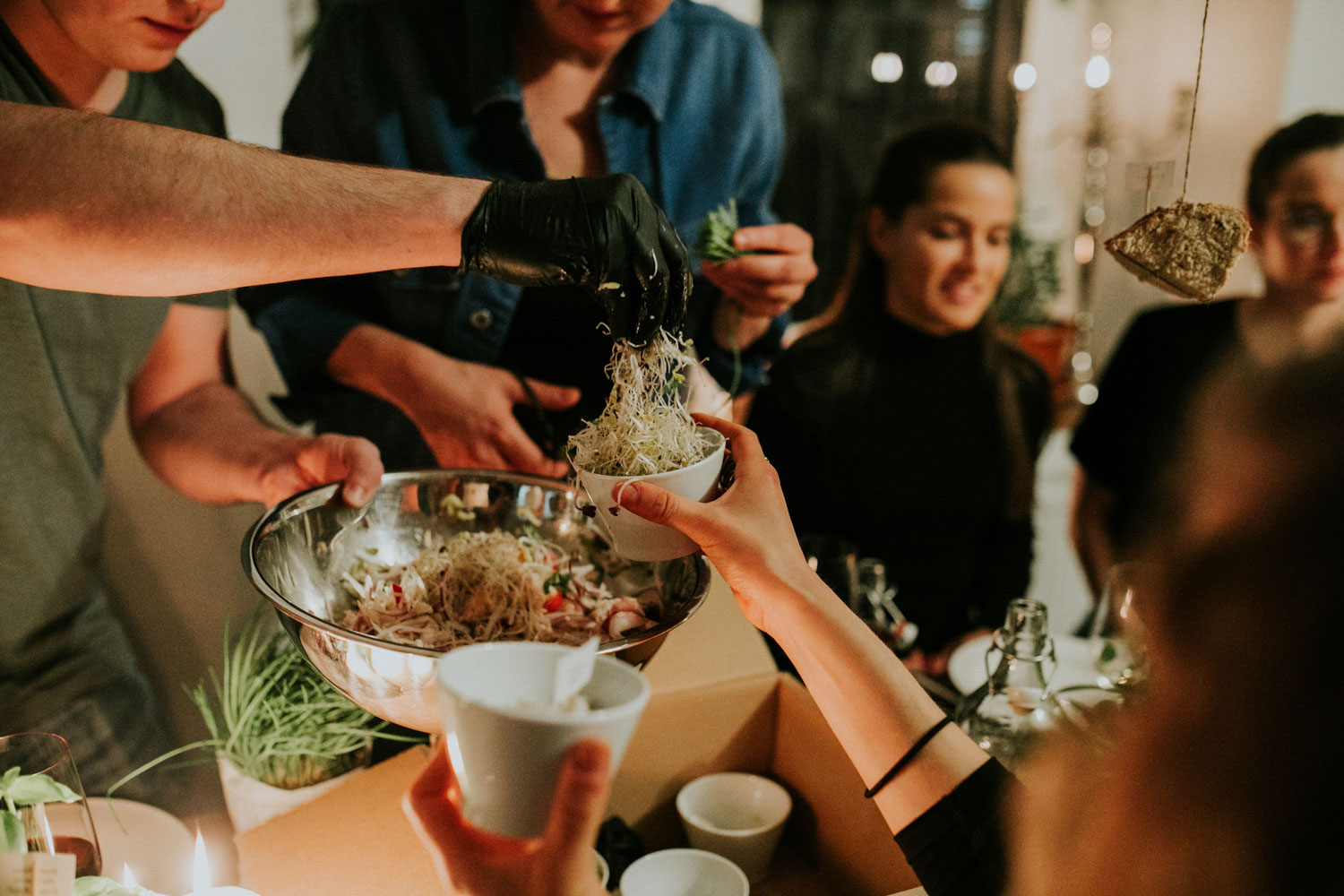 Wild and Root food events Berlin