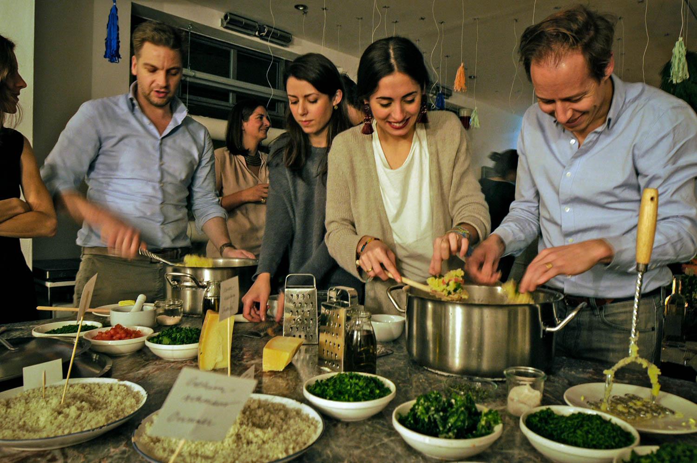 Wild and Root interaktive Menüs Food Studio Berlin