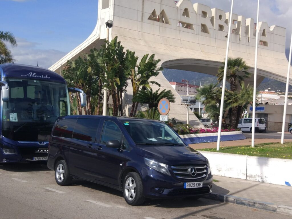 Taxi from Malaga airport to Marbella