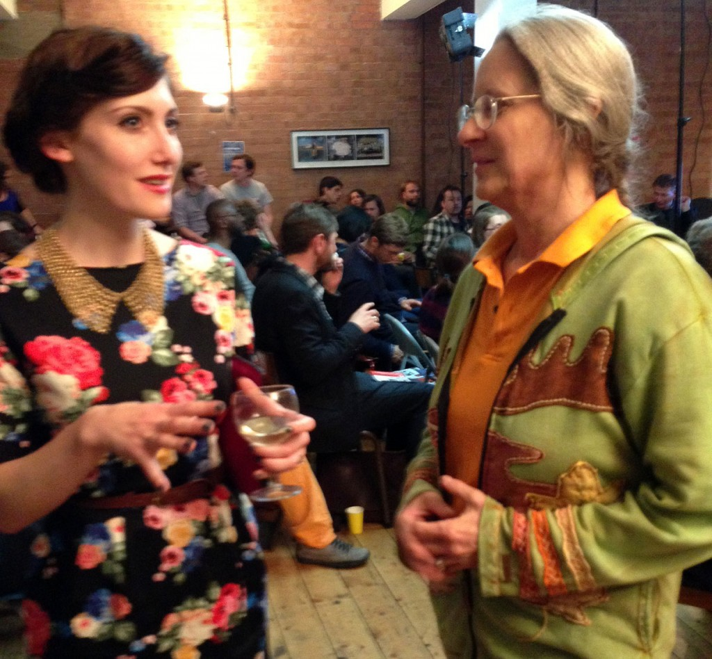 Chloe Martin, Sequential App chats to Wendy Grossman, tech journalist.