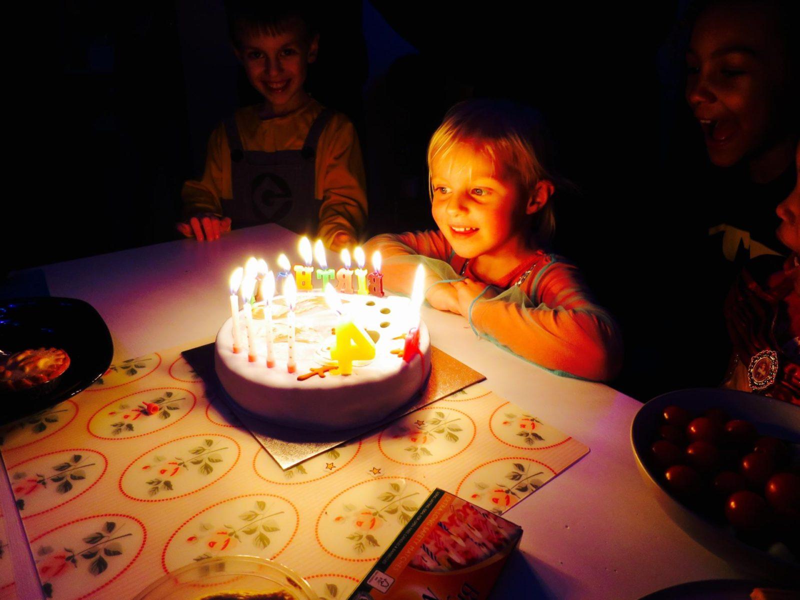Ellenah's 4th Birthday