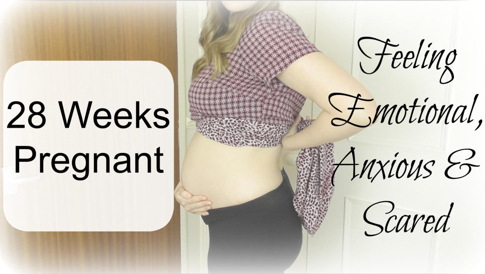 The Pregnancy Diaries #14 // 28 Weeks Pregnancy Update (Video)