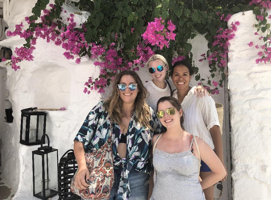 Mykonos Girls Trip