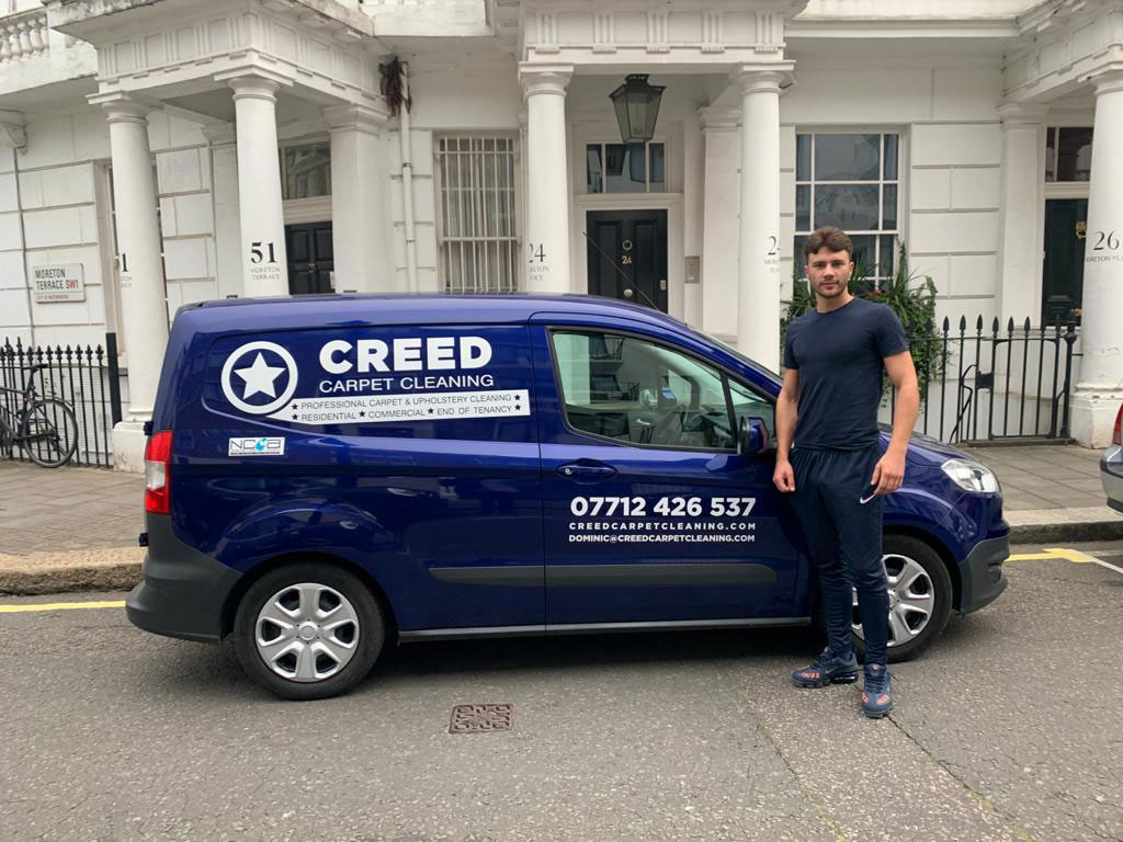 creed carpet cleaning dominic van