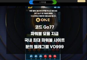 Read more about the article 파워볼요율 사이트