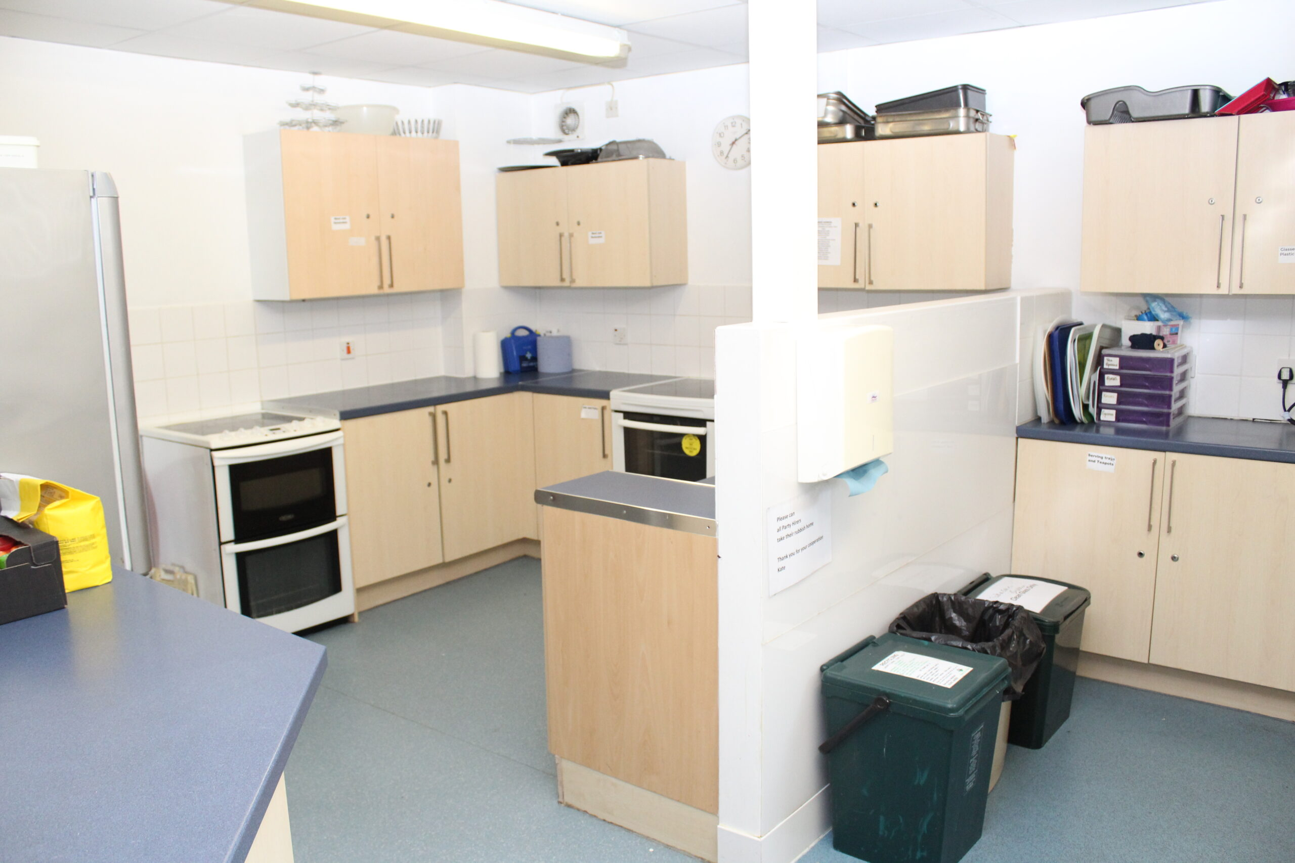 Hobnob Hall kitchen – only book with hall
