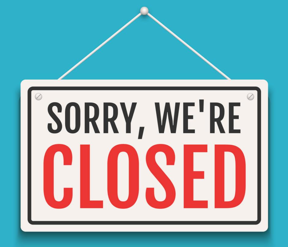 Centre Closed for COVID-19
