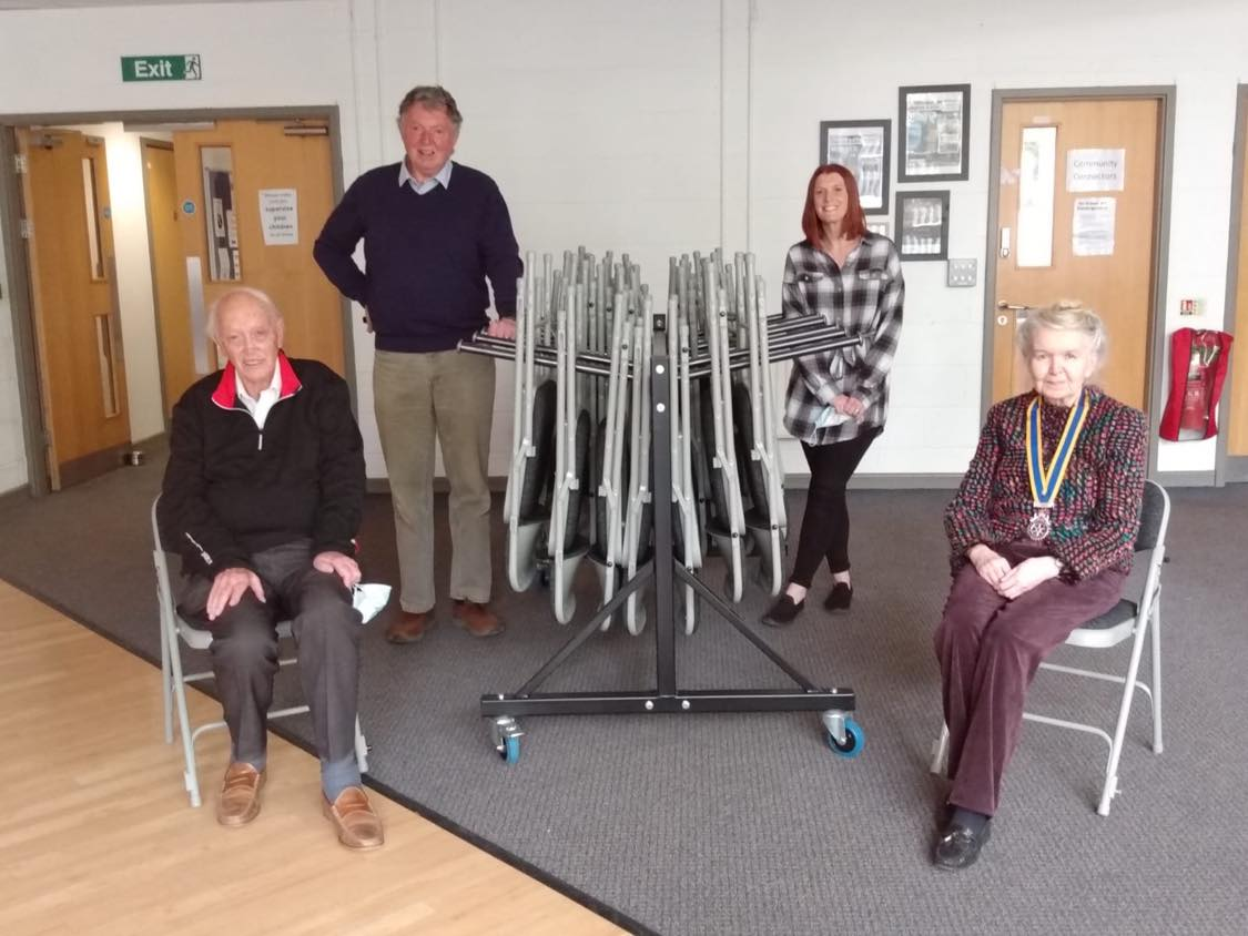 Thank You Exeter Rotary Club