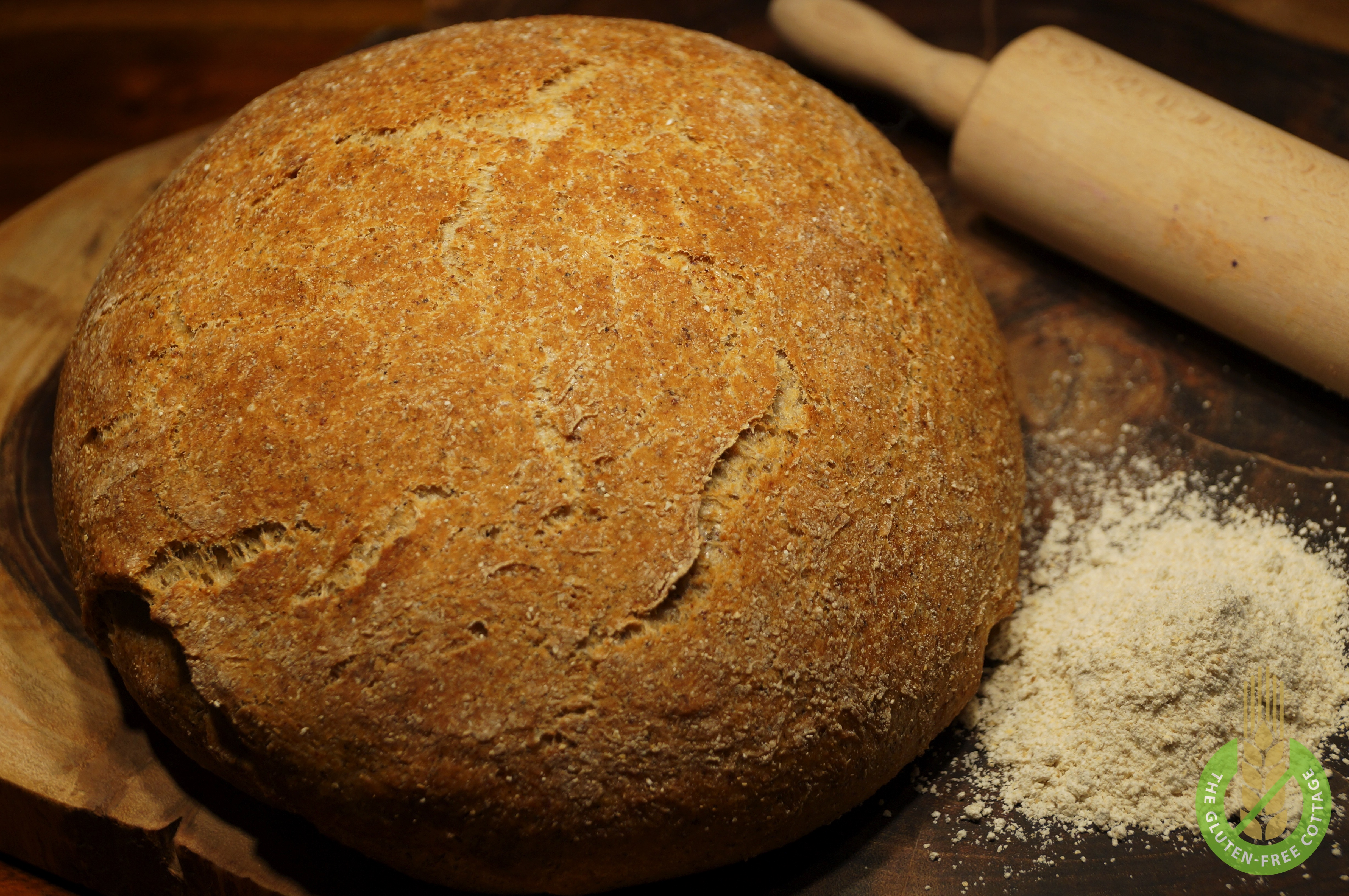 How to make gluten-free brown bread.