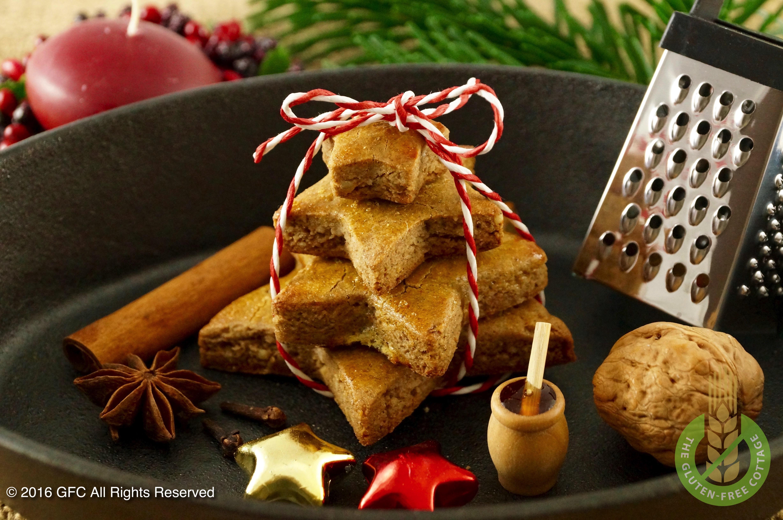 Very tasty gluten-free gingerbread cookies.