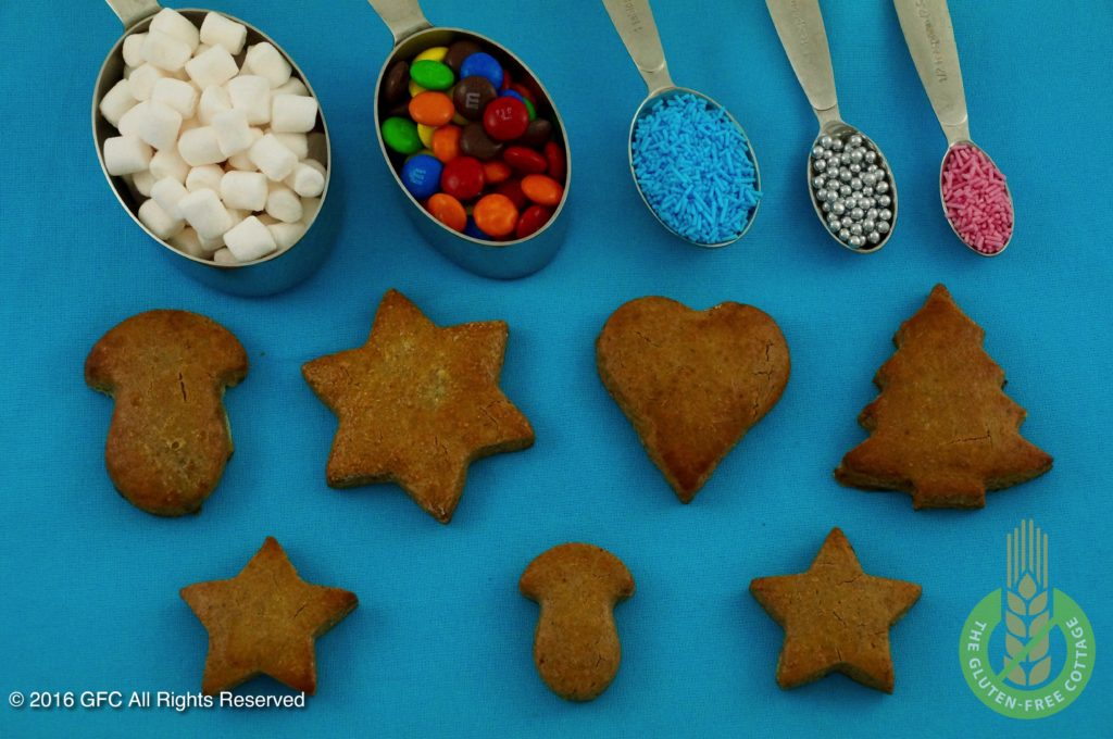 Decoration (gluten-free gingerbread cookies)