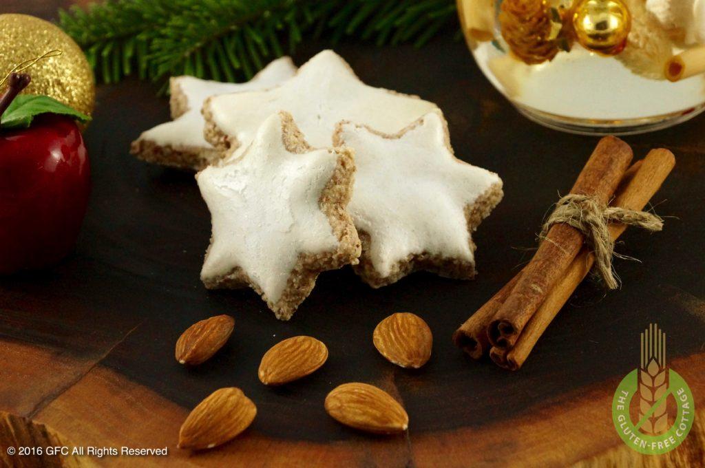 Gluten-Free Cinnamon Cookies Almond Cookies (glutenfreie Zimtsterne).