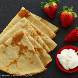 Gluten-Free Sweet and Savory Crepes Recipe.