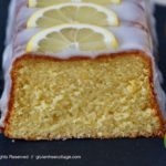 Very flavorful, soft and moist gluten-free lemon cake.