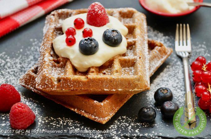 Crispy and Tasty Gluten-Free Waffles
