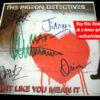PIGEON DETECTIVES AUTOGRAPHS
