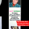 Cliff Richard Signed Publicity Photo