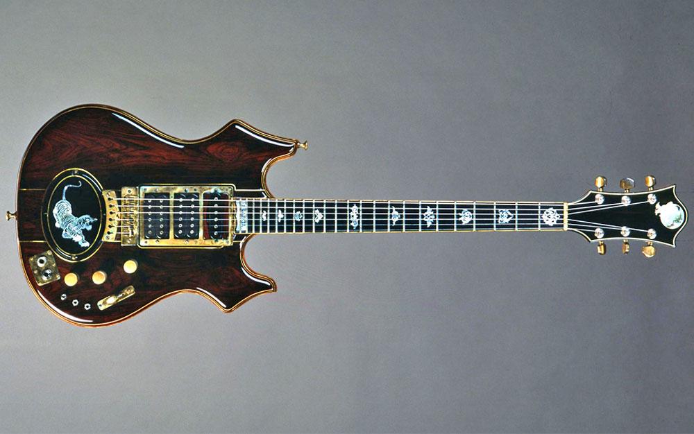 Jerry Garcias Tiger Guitar
