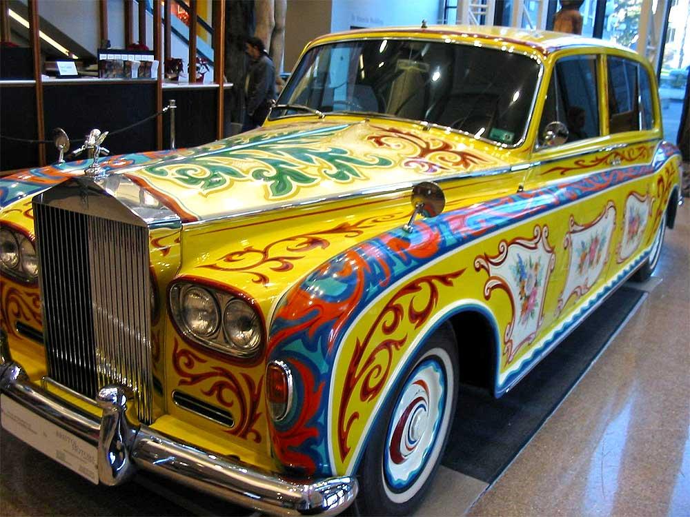 John Lennon's 1965 Rolls-Royce Phantom V Car