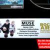 Muse Signed Music Memorabilia