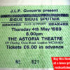 SIGUE SIGUE SPUTNIK TICKET 1989