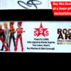 SIGUE SIGUE SPUTNIK SIGNED MUSIC MEMORABILIA