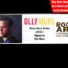 OLLY MURS AUTOGRAPHED MEMORABILIA