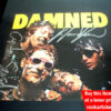 The Damned 40th Signed CD